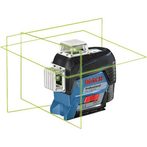 Bosch Cirkellaser GLL 3-80CG i L-BOXX utan batteri & laddare