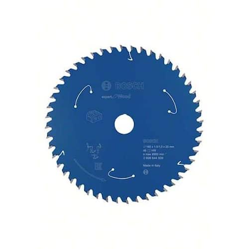 Bosch Sågklinga Expert for Wood 165×1,5/1×20mm 48T