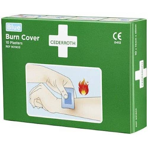 Cederroth Plåster Burn Cover 901903 10-pack