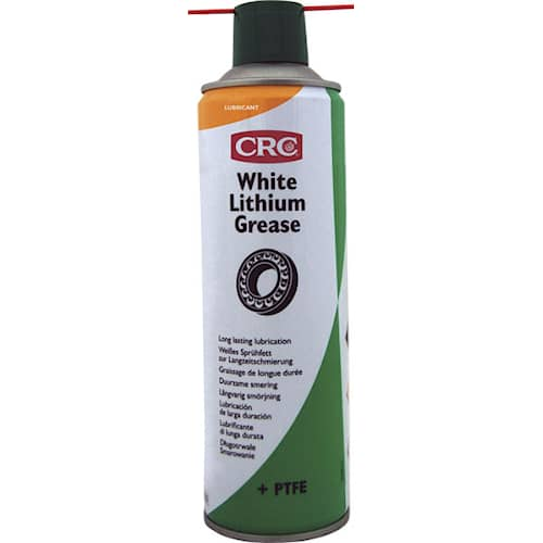CRC Litiumfett Spray vit med PTFE 500ml