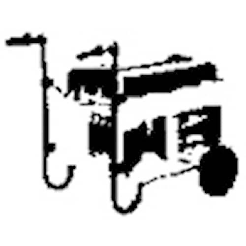 Pramac Hjulsats för elverk Universal