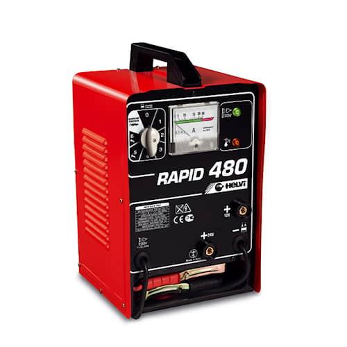 Helvi Batteriladdare med starthjälp Rapid 480 12/24V 55A