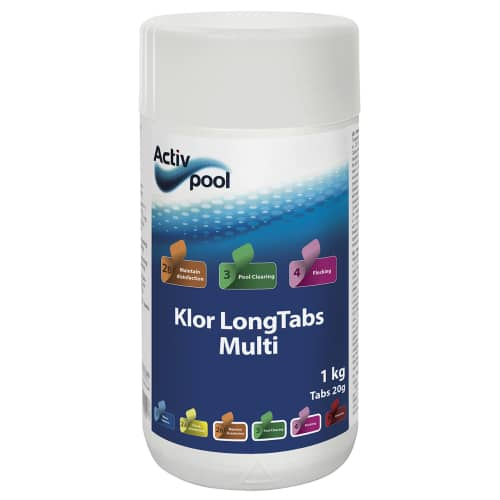 Activ Pool Pool Klor LongTabs Multi 20 gram 1 kg