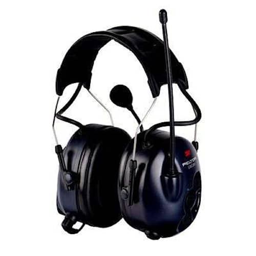 3M Peltor LiteCom hörselskydd med hjässbygel, 32 dB, PMR 446 MHz, MT53H7A4400-EU