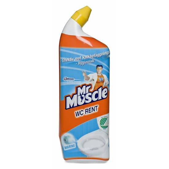 Mr Muscle Sanitetsrengöring WC-rent Mr Muscle marin 750ml