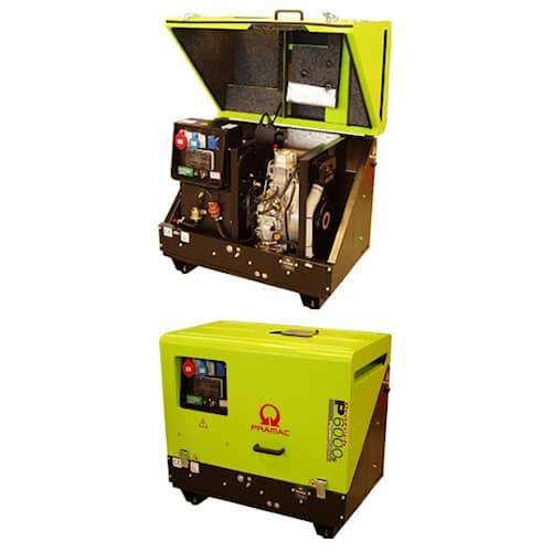 Pramac Elverk P6000s TYEDS 3-fas diesel tystgående