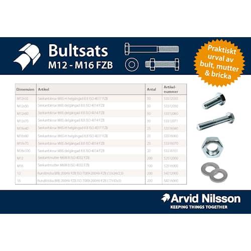 Arvid Nilsson Bultpaket M12 - M16 FZB