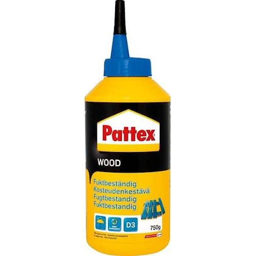 Pattex Trälim D3 Fuktbeständigt 750 gram