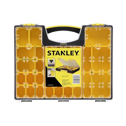 Stanley Sortimentlåda med 25 fack