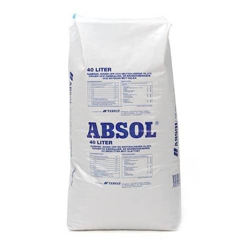 Absol Absorberingsmedel Absol Blå Säck 40 liter