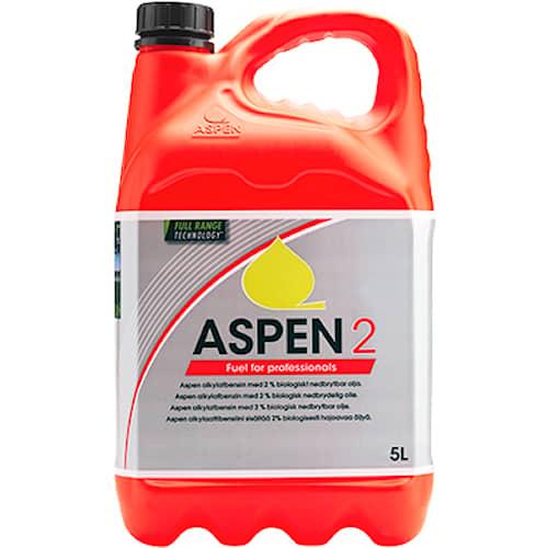 Aspen Alkylatbensin Aspen 2 2-takt 5 liter 108st