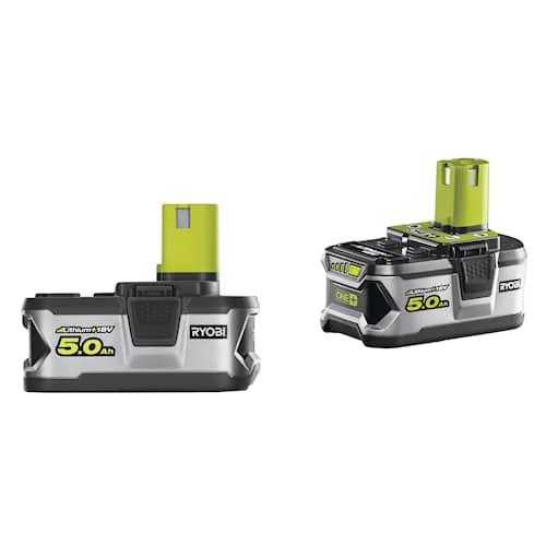 Ryobi RB18LL50 ONE+ Batteri 18V 5,0Ah 2-pack
