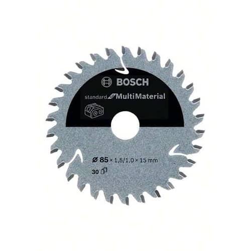 Bosch Sågklinga Standard for Multimaterial 85×1,5/1×15mm 30T