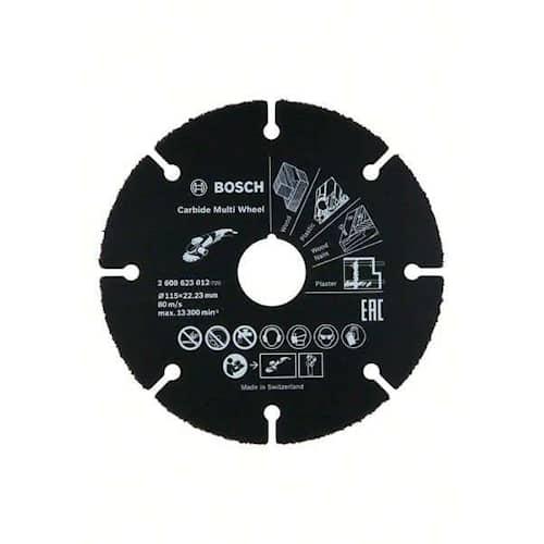 Bosch Kapskiva HM Carbide Multi Wheel 115x22,23mm