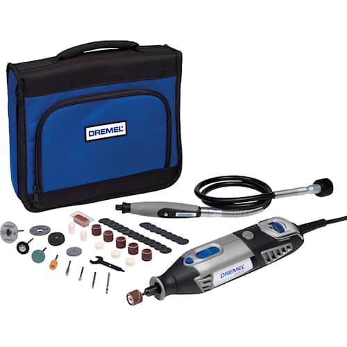 Dremel Multiverktyg 4000JA M/45 delar & SC