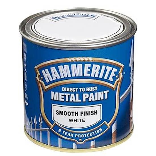 Hammerite Hammarlack Hammerite Slätlack Vit 250 ml