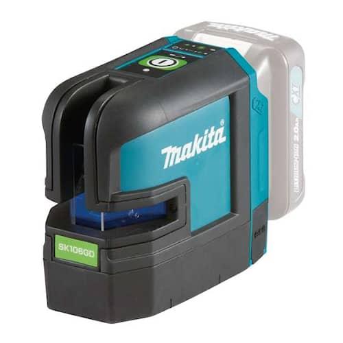 Makita Kryss & punktlaser Grön SK106GDZ 12V utan batteri & laddare