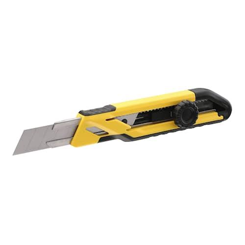 Stanley Brytbladskniv 18mm med låsskruv