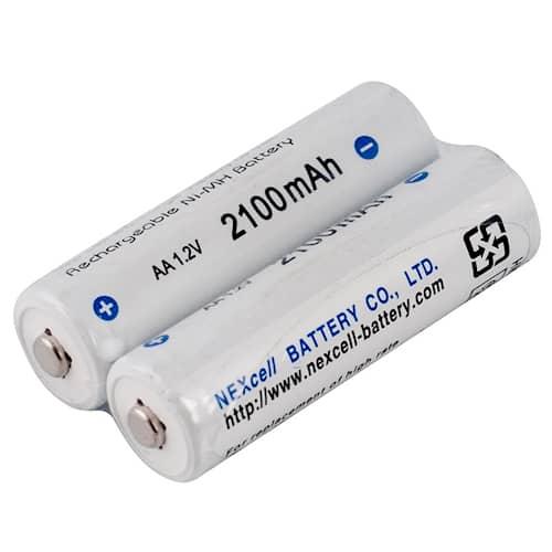 3M Peltor Batteripaket till WS Alert, laddningsbart, 2-pack, LR6NM
