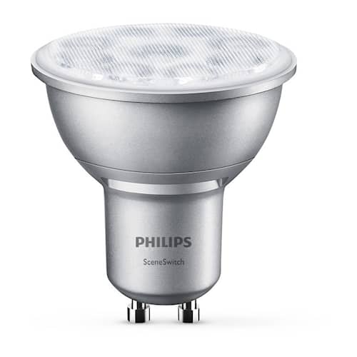 Philips Lampa Spot 3-steg LED GU10 4,5-2,8-1,3W