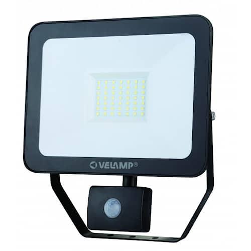 Velamp Strålkastare LED med rörelsesensor 50W 6500K