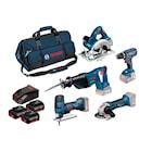 Bosch 18V GSR/Gst/GWS/Gks/GSA 3X4,0Ah Set