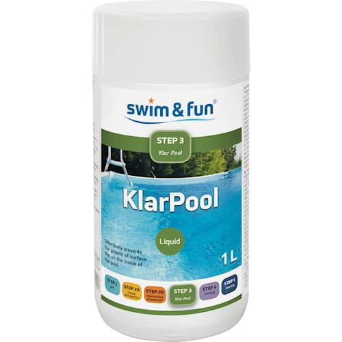 Swim & Fun Klarpool 1l