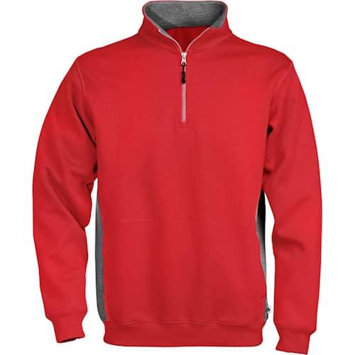 Acode Sweatshirt med kort dragkedja 1705 DF