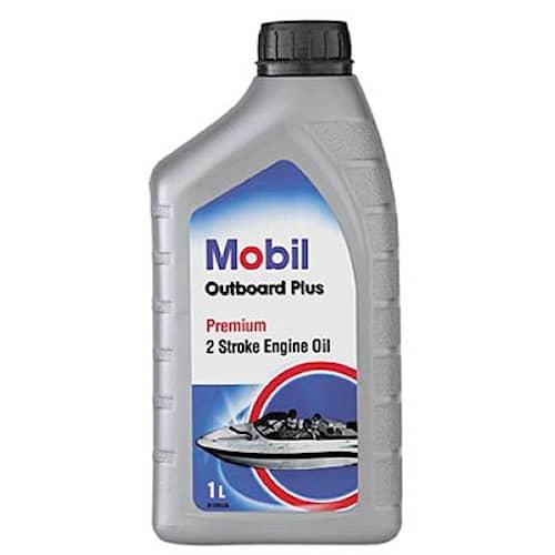 Mobil Olja 2- takt Mobil Outboard Plus 1l