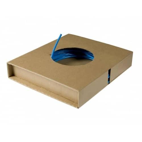 Metal Work Pneumatic Instrumentrör PA i kartong Blå 4x6mm 25m