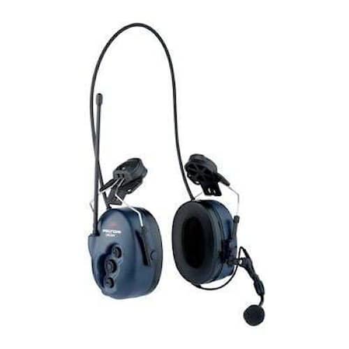 3M Peltor LiteCom hörselskydd med hjälmfäste, 33 dB, PMR 446 MHz, MT53H7P3E4400-EU