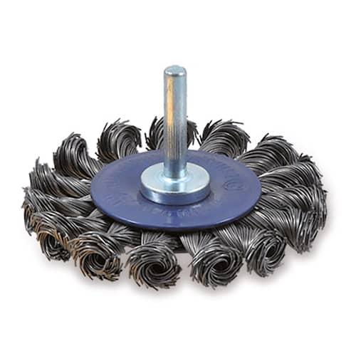 Osborn Cirkulärborste virad ståltråd 75x6x8mm