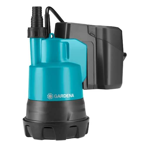 Gardena Dränkbar pump för rent vatten  2000/2 Li-18