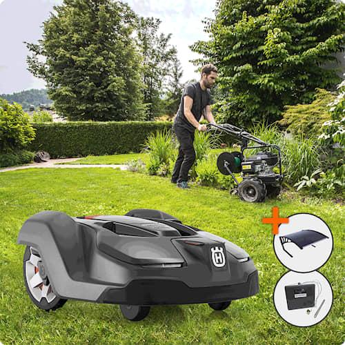 Husqvarna Automower® 450x Installerad & Klar