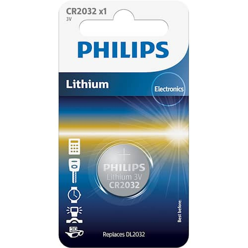 Philips Battericell Lithium CR2032