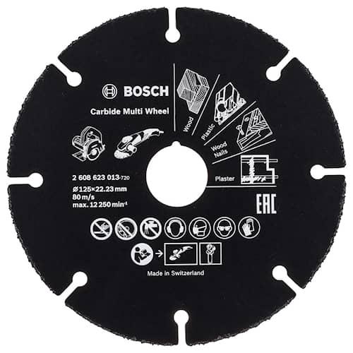 Bosch Kapskiva Multiwheel HM 125X22,23MM