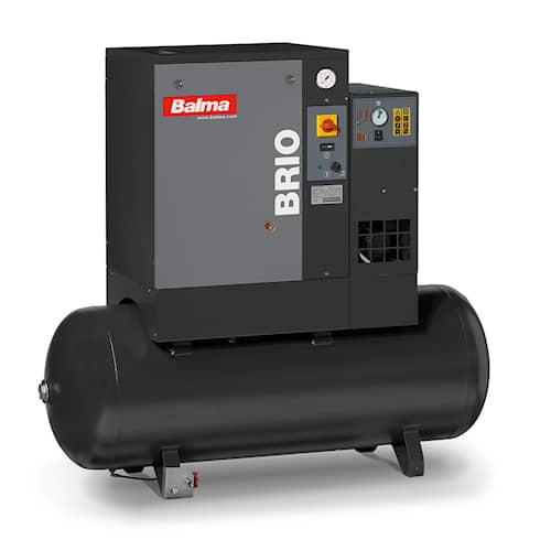 Balma Skruvkompressor BRIO.E 5.5 10 bar 200 l med kyltork