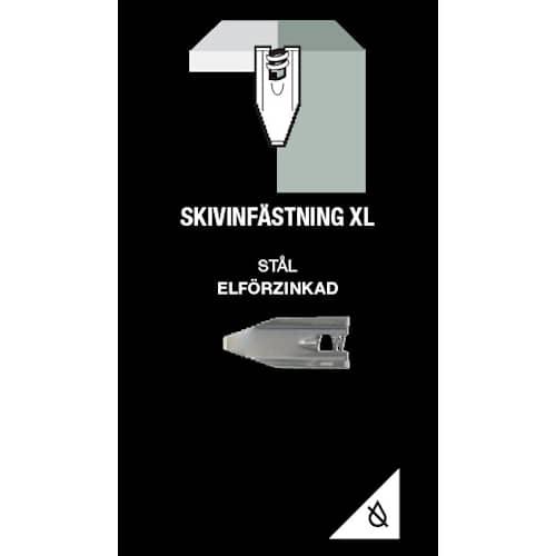 Gunnebo Fastening Skivinfästning XL Elförzinkad 5-pack