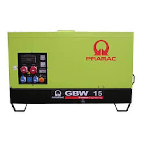 Pramac Elverk GBW15P MCP (täckt) 3-fas diesel