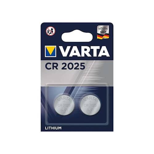 Varta Battericell CR2025 litium 2st/frp