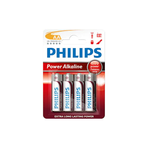 Philips Batteri Philips AA 1,5V LR06 4-pack
