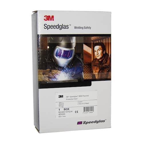 3M Speedglas Yttre skyddsglas till FlexView 10-pack, 423000