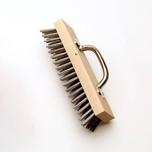 Osborn Murputsborste med handtag 0,35mm ståltråd