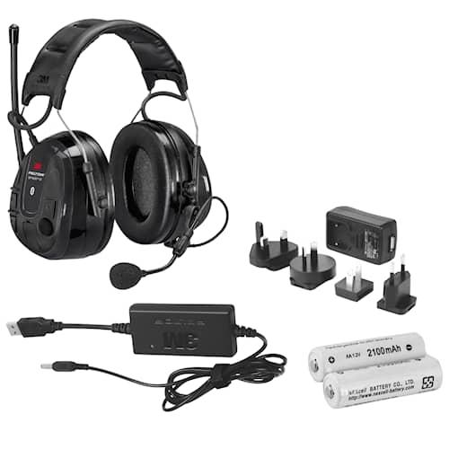 3M Peltor WS Alert XP Hjässbygel  inklusive ACK-paket (FR09, FR08), MRX21A2WS6ACK