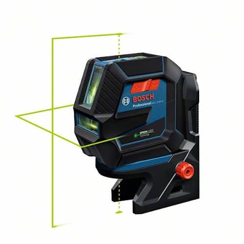 Bosch Kombilaser grön GCL 2-50/RM10/clip/case