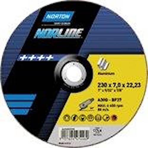 Norton Kapskiva för aluminium Norline125x1,6x22,23