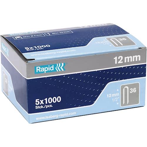 Rapid Häftklammer för kabel 36 5x1000-pack
