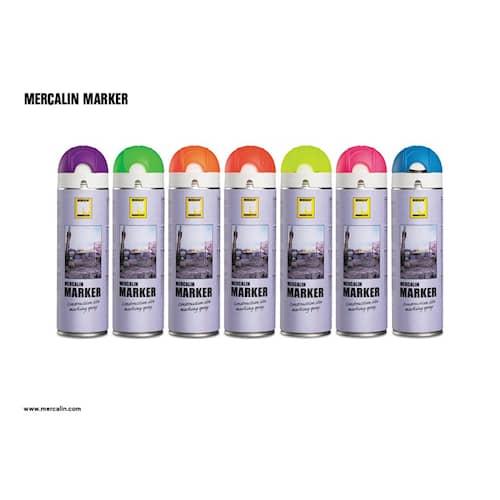 Mercalin Märkfärg Mercalin Marker Fluor Röd 500ml