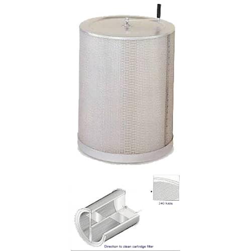 Duab Filter för spånsug CK-370S 370 mm