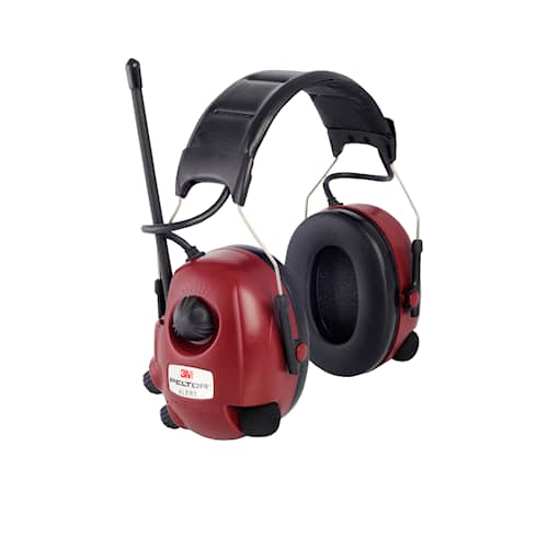 3M Peltor Alert hörselskydd med hjässbygel, FM-radio, M2RX7A2-01